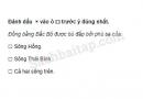 Câu 1 trang 28 Vở bài tập Địa lí 4