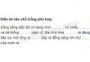 Câu 2 trang 28 Vở bài tập Địa lí 4