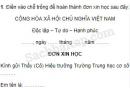 Tập làm văn – Ôn tập về viết đơn trang 121, 122 Vở bài tập (VBT) Tiếng Việt 5 tập 1