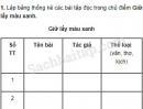 Tiết 1 – Tuần 18 – Ôn tập cuối học kì 1 – VBT Tiếng Việt 5