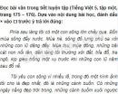 Tiết 7 – Tuần 18 – Ôn tập cuối học kì 1 – VBT Tiếng Việt 5