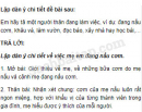 Tiết 8 – Tuần 18 – Ôn tập cuối học kì 1 – VBT Tiếng Việt 5