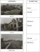 Câu 1 trang 34 Vở bài tập Lịch sử 4
