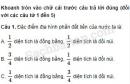 Đề kiểm tra học kì I trang 34, 35 VBT Địa lí 5