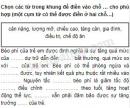 Câu 1 trang 23 Vở bài tập Khoa học 4