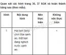 Câu 1 trang 27 Vở bài tập Khoa học 4