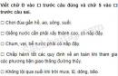 Câu 2 trang 27 Vở bài tập Khoa học 4