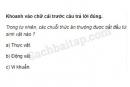 Câu 4 trang 87 Vở bài tập Khoa học 4